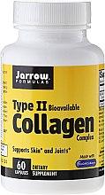 Profumi e cosmetici Complesso di collagene di tipo 2, 500 mg, 60 compresse - Jarrow Formulas Type II Collagen Complex