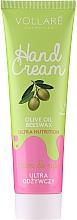 Profumi e cosmetici Crema mani nutriente e protettiva - Vollare Cosmetics De Luxe Hand Cream Ultra Nutrition
