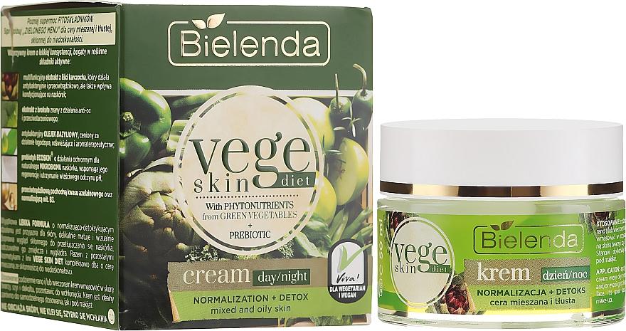 Crema per pelli miste e grasse - Bielenda Vege Skin Diet