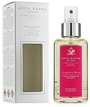 Profumi e cosmetici Spray aromatico per ambiente - Acca Kappa Virginia Rose Home Fragrance Diffuser Spray