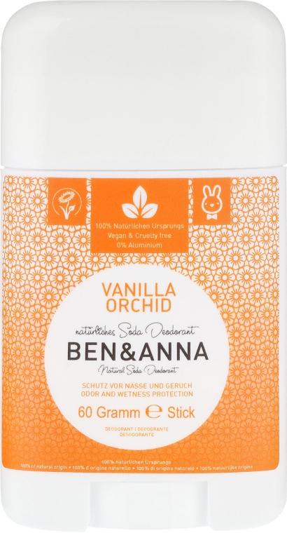 """Deodorante al bicarbonato """"Vaniglia e Orchidea"""" - Ben & Anna Natural Soda Deodorant Vanilla Orchid"""