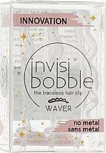 Profumi e cosmetici Fermaglio per capelli, trasparente con paillettes - Invisibobble Waver Sparks Flying