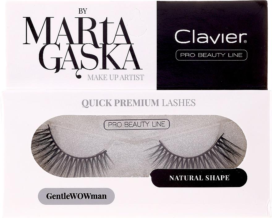 Ciglia finte - Clavier Quick Premium Lashes GentleWOWman 803 — foto N1