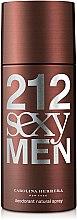 Profumi e cosmetici Carolina Herrera 212 Sexy Men - Deodorante