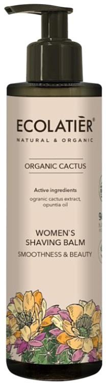 Balsamo per rasatura, da donna - Ecolatier Organic Cactus Women's Shaving Balm