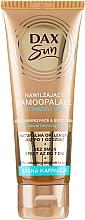 Profumi e cosmetici Abbronzante per la pelle chiara - DAX Sun Extra Bronze Self-Tanning Cream