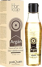 Profumi e cosmetici Elisir per capelli normali con olio di argan - PostQuam Argan Sublime Hair Care Normal Hair Elixir