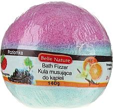 Profumi e cosmetici Bomba da bagno, blu-viola - Belle Nature