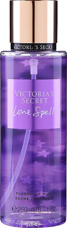 Spray corpo profumato - Victoria's Secret Love Spell (2016) Fragrance Body Mist — foto N1