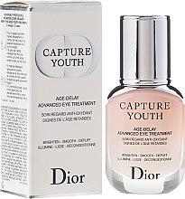 Profumi e cosmetici Tratamento contorno occhi - Dior Capture Youth Age-Delay Advanced Eye Treatment