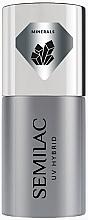 Profumi e cosmetici Base per smalto gel - Semilac UV Hybrid Mineral Strong Base