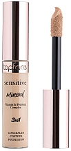Profumi e cosmetici Correttore viso - TopFace Sensitive Mineral 3 in 1 Concealer