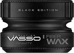 Profumi e cosmetici Cera per capelli - Vasso Professional Hair Styling Wax Gravity Black Edition