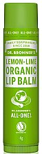 Profumi e cosmetici Balsamo labbra al limone e lime - Dr. Bronner's Lemon & Lime Lip Balm