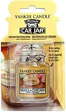 Profumi e cosmetici Profumo per auto - Yankee Candle Car Jar Vanilla Cupcake