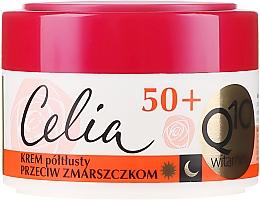 Profumi e cosmetici Crema antirughe - Celia Q10 Vitamin 50+