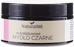 Profumi e cosmetici Sapone nero naturale al eucalipto - NaturalME