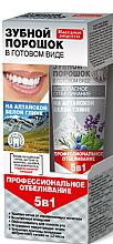 """Profumi e cosmetici Polvere dentale all'argilla bianca Altaian """"5 in 1"""" - Fito Ricette tradizionali"""