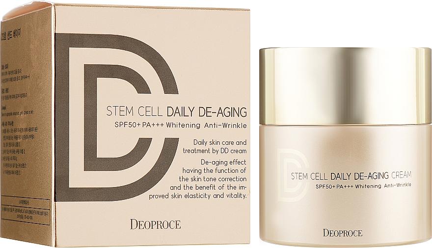 DD Crema solare antietà - Deoproce Stem Cell Daily-aging Cream — foto N1
