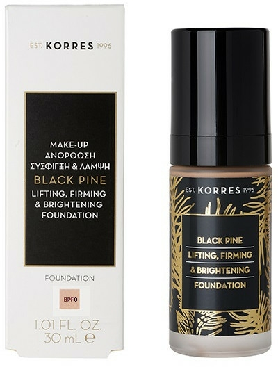Fondotinta - Korres Black Pine Lifting, Firming & Brightening Foundation