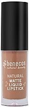 Profumi e cosmetici Rossetto liquido opaco - Benecos Natural Matte Liquid Lipstick