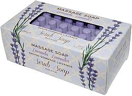 """Profumi e cosmetici Sapone da massaggio """"Lavanda"""" - Gori 1919 Massage Scrub Soap Lavender"""