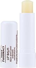 Profumi e cosmetici Balsamo labbra con Aloe e Lime - Green Pharmacy Lip Balm With Aloe And Lime