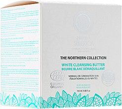 Profumi e cosmetici Burro detergente per pelli normali e miste - Natura Siberica The Northern Collection White Cleansing Butter