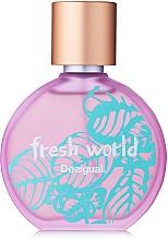 Profumi e cosmetici Desigual Fresh World - Eau de toilette