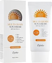 Profumi e cosmetici Crema solare all'estratto di riso - Esfolio Multi Grain Sun Cream SPF 50+/PA+++