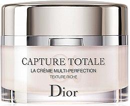 Profumi e cosmetici Crema viso, Multi-Perfection - Dior Capture Totale Multi-Perfection Creme Rich Texture