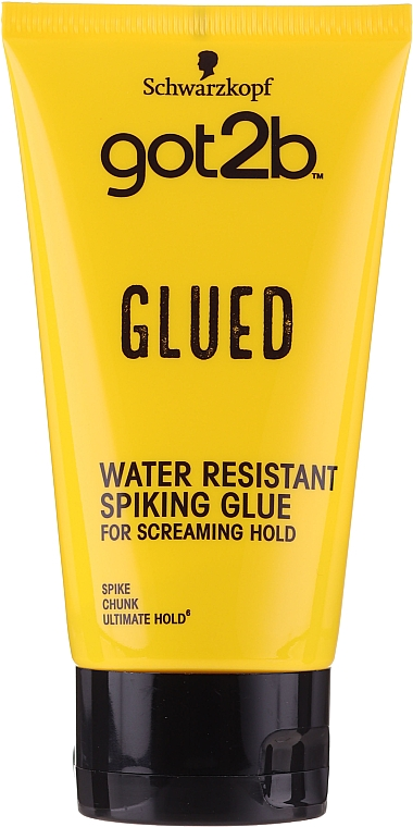 Lozione per lo styling dei capelli - Schwarzkopf Got2b Glued Spiking Glue
