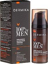 Profumi e cosmetici Crema viso, antirughe profonde - Dermika Anti-Wrinkle And Anti-Furrow Cream 50+