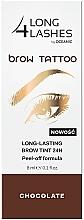 Profumi e cosmetici Tinta permanente per sopracciglia - Long4Lashes Brow Tattoo Long Lasting Brow Tint 24h