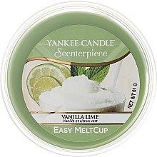 Profumi e cosmetici Cera aromatica - Yankee Candle Vanilla Lime Melt Cup