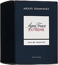 Adolfo Dominguez Agua Fresca Extreme - Eau de toilette  — foto N1