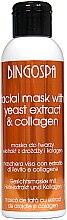 Profumi e cosmetici Maschera per pelli grasse con estratto di lievito di birra e collagene - BingoSpa