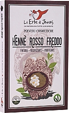 """Profumi e cosmetici Polvere per capelli """"Rosso Freddo"""" - Le Erbe di Janas Red Henna Cold Shades"""