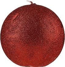 "Profumi e cosmetici Candela decorativa ""Glamorous ball"" rossa, 10cm - Artman Glamour"