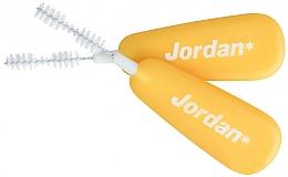 Spazzole interdentali L 0,7 mm, 10 pezzi, giallo - Jordan Brush Between — foto N2