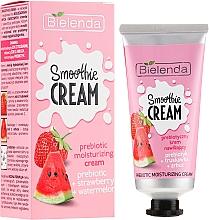 "Profumi e cosmetici Crema viso idratante ""Anguria e Fragola"" - Bielenda Smoothie Cream"