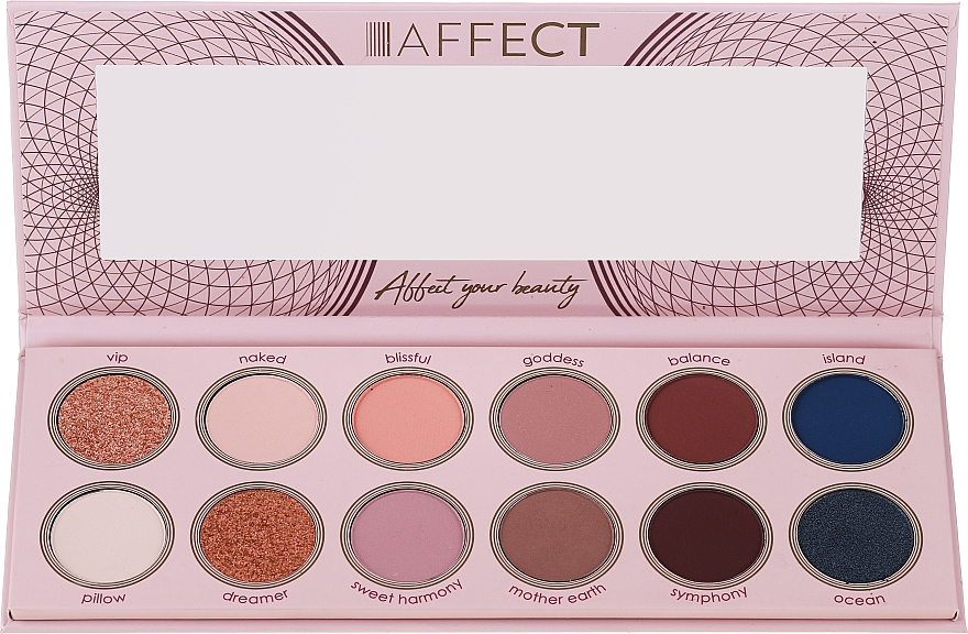 Palette ombretti - Affect Cosmetics Sweet Harmony
