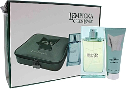 Profumi e cosmetici Lolita Lempicka Green Lover - Set (edt/100ml + afsh/gel/75ml + pouch)
