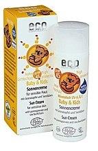 Profumi e cosmetici Crema solare impermeabile per bambini SPF 45 - Eco Cosmetics Baby Sun Cream SPF 45