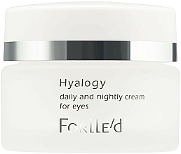 Profumi e cosmetici Crema contorno occhi - ForLLe'd Hyalogy Daily And Nightly Cream For Eyes