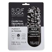 """Profumi e cosmetici Maschera al carbone """"Disintossicazione perfetta"""" - Biologica Charcoal"""