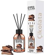 "Profumi e cosmetici Aromadiffusore ""Cioccolato"" - Eyfel Perfume Reed Diffuser Chocolate"