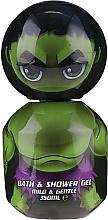 Profumi e cosmetici Gel doccia per bambini - Corsair Marvel Avengers Hulk Bath&Shower Gel