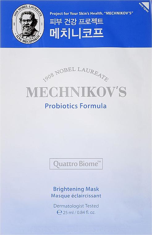 Maschera viso - Holika Holika Mechnikov's Probiotics Formula Mask Sheet