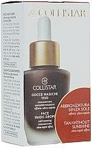 Profumi e cosmetici Prodotto abbronzante concentrato per viso - Collistar Abbronzatura Senza Sole Self Tanning Concentrate Ultra Rapid Effect